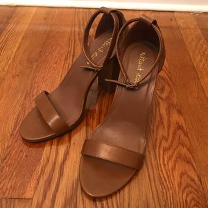 Like New Altar'd State Brown Chunky Heels Size 7.5